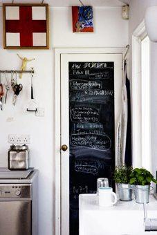 Paredes pizarra-iman en espacios decoracion-cocinas Blog Decoracion
