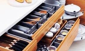 Cómo sacar el máximo partido a las gavetas de la cocina decoracion-cocinas Blog Decoracion