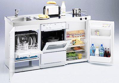 Cocinas compactas para espacios pequeños decoracion-cocinas Blog Decoracion