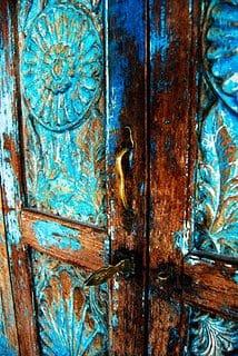 Puertas de colores para la entrada sin-categoria Blog Decoracion