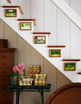 Una idea original para decorar la escalera ideas-para-decorar Blog Decoracion