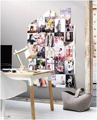 Un idea original para decorar las paredes   sin-categoria Blog Decoracion
