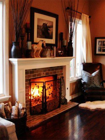 Una idea para decorar la repisa de la chimenea sin-categoria Blog Decoracion