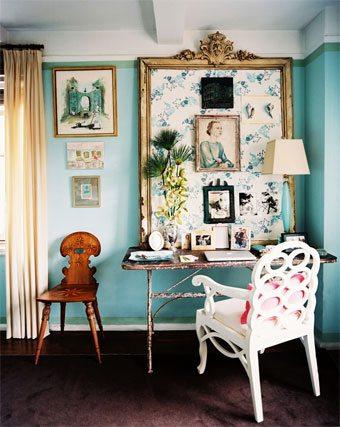Una original idea para decorar la pared con marcos  sin-categoria Blog Decoracion