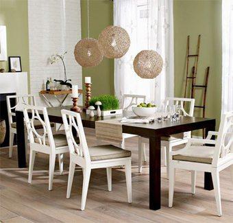 Un punto de luz sobre la mesa del comedor decoracion-comedores Blog Decoracion