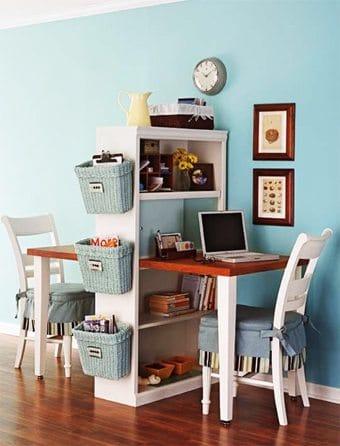 Una repisa, dos oficinas  como-decoracorar-un-despacho Blog Decoracion