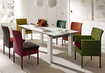 Una silla de cada color decoracion-jardines Blog Decoracion