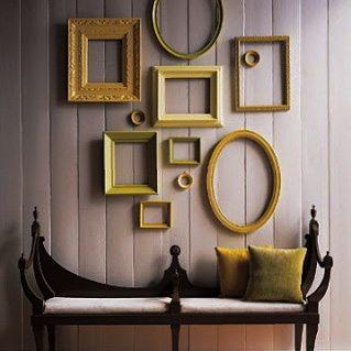 Marcos sin fotos ideas-para-decorar, decoracion-paredes Blog Decoracion