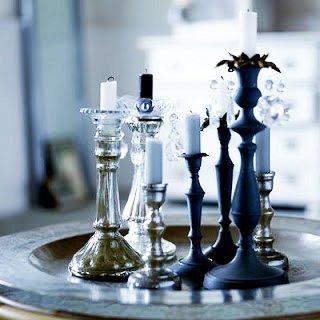 Una linda composición con candelabros ideas-para-decorar Blog Decoracion