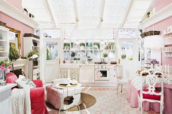 Una cocina muy femenina  muebles-decoracion Blog Decoracion
