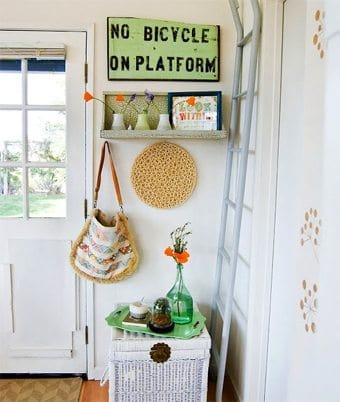 Idea para decorar un mini-recibidor decoracion-paredes Blog Decoracion