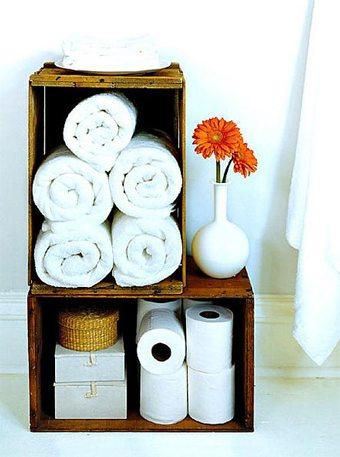 Más espacio de almacenaje en el baño  decorar-banos Blog Decoracion