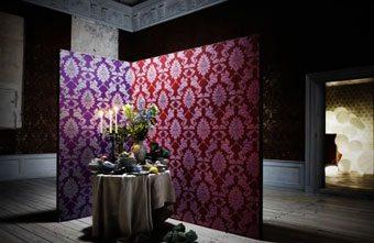 Papeles con brillo propio: Swarovski decoracion-paredes Blog Decoracion