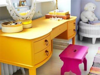 Un tocador para tu pequeña ideas-para-decorar, decoracion-dormitorios Blog Decoracion