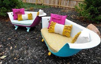 Convierte tu vieja bañera en un sofá para tu terraza ideas-para-decorar, decoracion-jardines, complementos-decoracion-2 Blog Decoracion