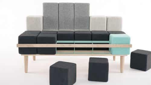 The Bloc'd Sofa