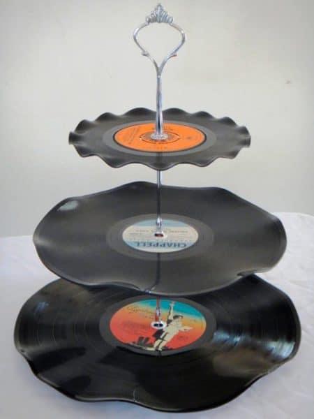 discos de vinilo reciclados
