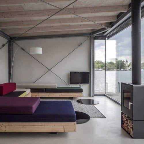 Modern Houseboat, una casa flotante en Berlín curiosidades-decoracion Blog Decoracion