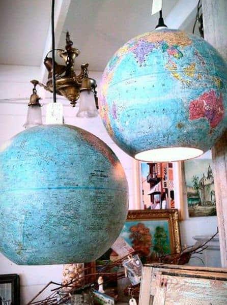 lámparas mapas