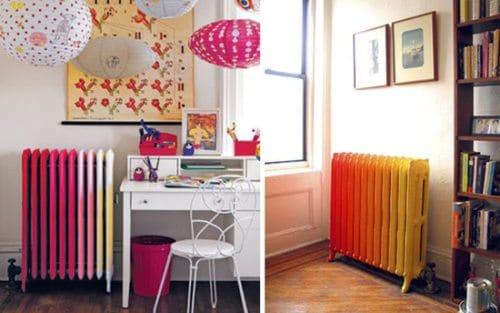 radiadores pintados